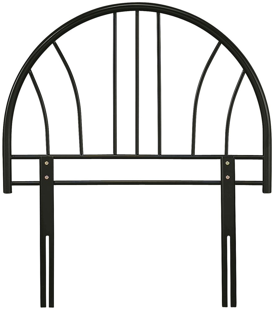 Serene Annabelle 3ft Black Metal Headboard