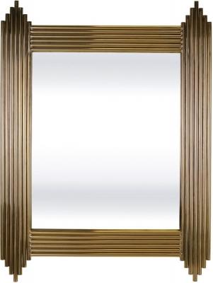 Serene Jaipur Gold Rectangular Mirror - 76cm x 102cm
