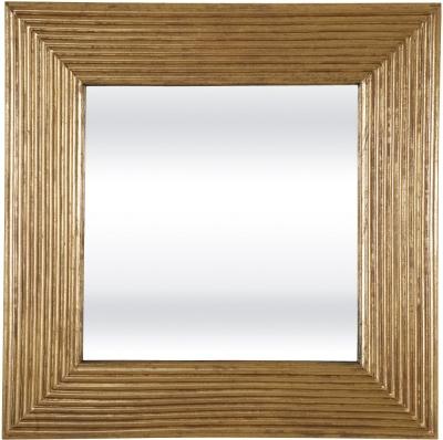 Serene Kavali Gold Square Mirror - 76cm x 76cm
