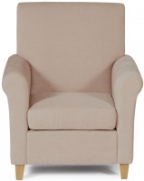 Serene Thurso Mink Fabric Chair