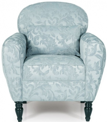 Serene Arden Duck Egg Fabric Chair
