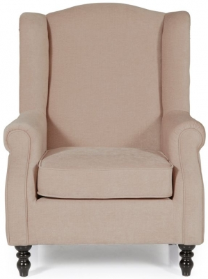 Serene Ayr Mink Fabric Chair