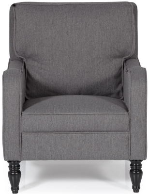 Serene Dundee Grey Fabric Chair