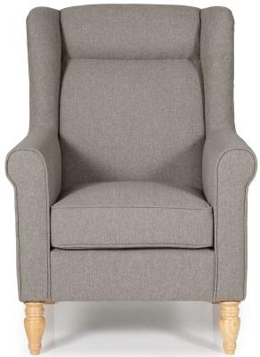 Serene Glasgow Mocha Fabric Chair