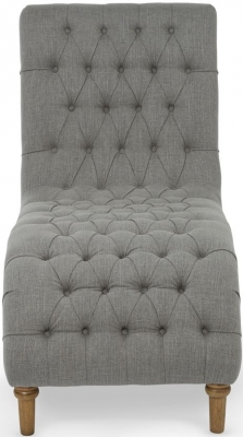 Serene Inverness Grey Fabric Chair
