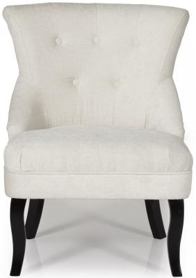 Serene Melrose Pearl Fabric Chair