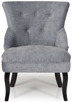 Serene Melrose Steel Fabric Chair