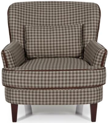 Serene Moffat Brown Fabric Chair
