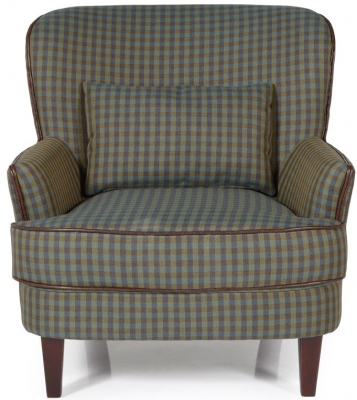 Serene Moffat Green Fabric Chair