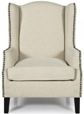 Serene Stirling Cream Fabric Chair