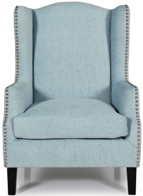 Serene Stirling Duck Egg Fabric Chair