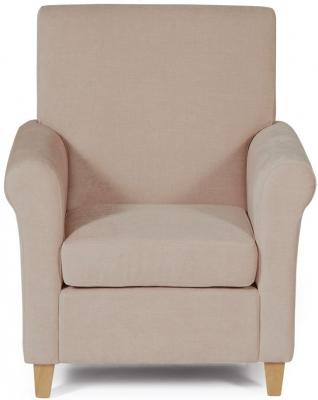Serene Thurso Mink Fabric Chair