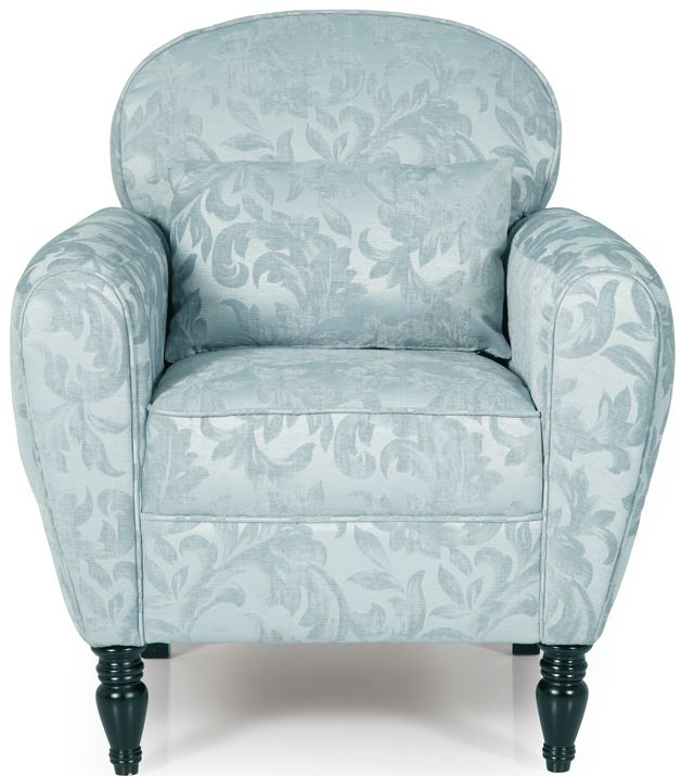 Serene Arden Duck Egg Fabric Chair