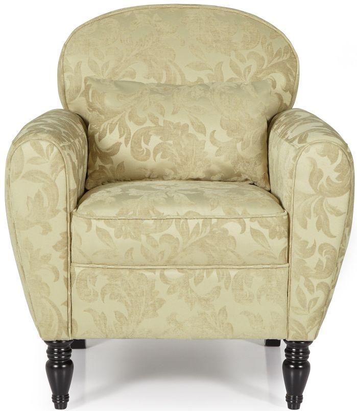 Serene Arden Oatmeal Fabric Chair