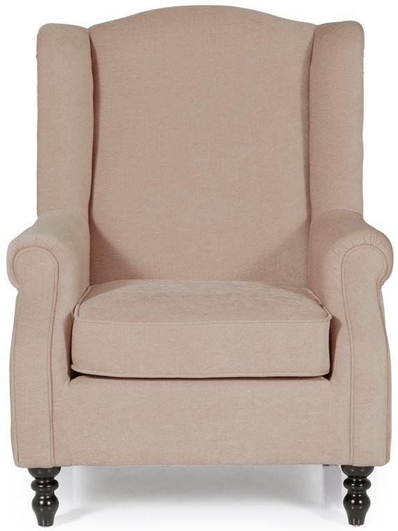 Serene Ayr Mink Fabric Chair