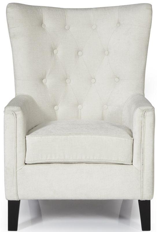 Serene Dunbar Pearl Fabric Chair