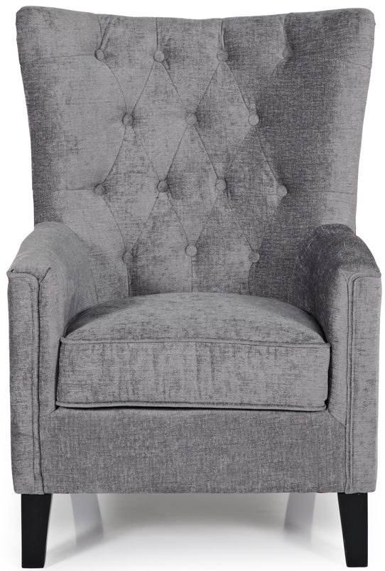 Serene Dunbar Steel Fabric Chair