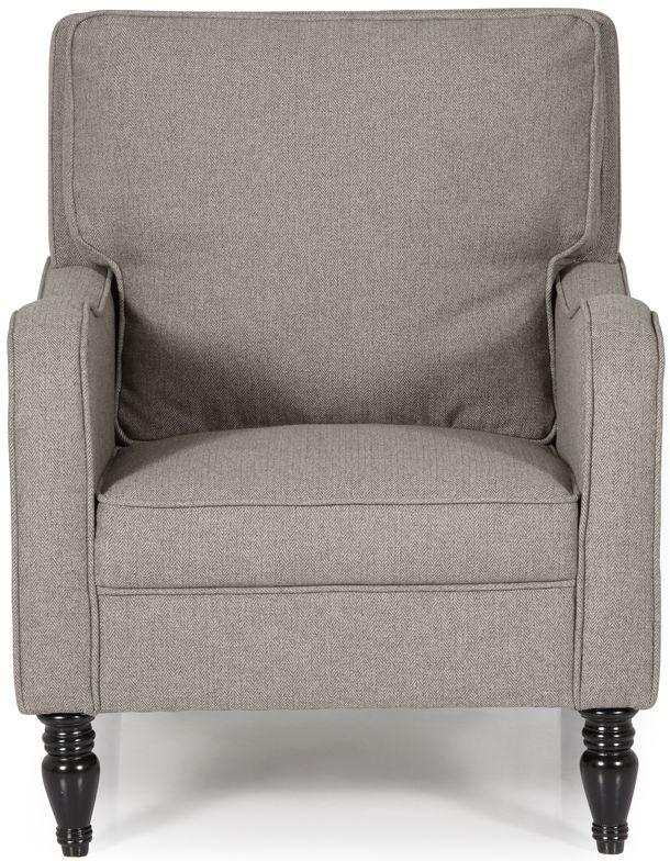 Serene Dundee Mocha Fabric Armchair