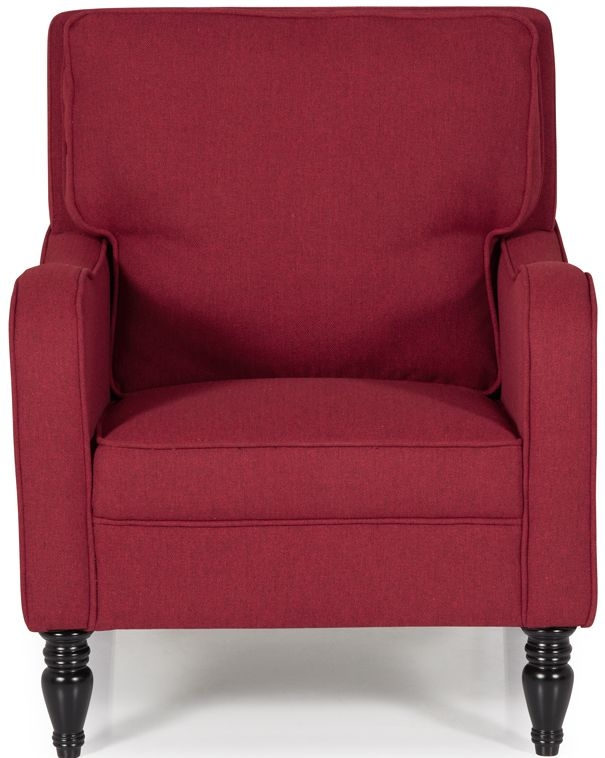 Serene Dundee Scarlet Fabric Chair