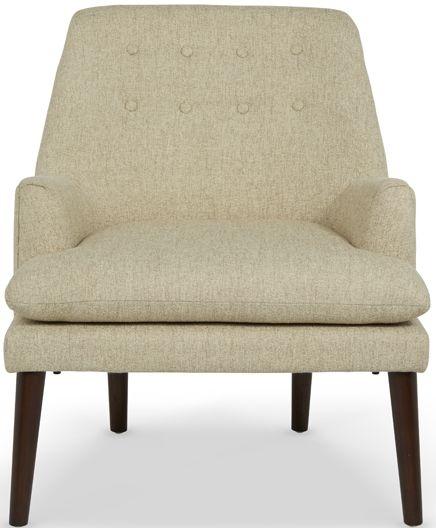 Serene Falkirk Mink Fabric Chair