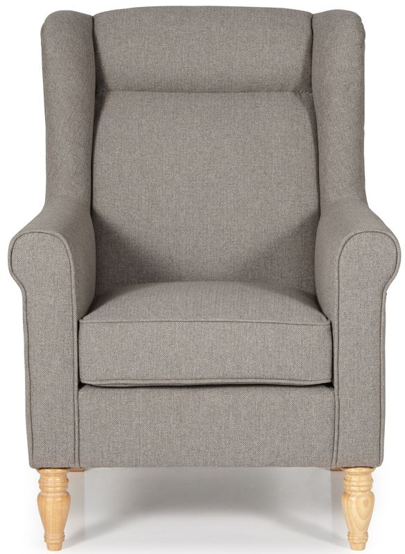 Serene Glasgow Mocha Fabric Chair