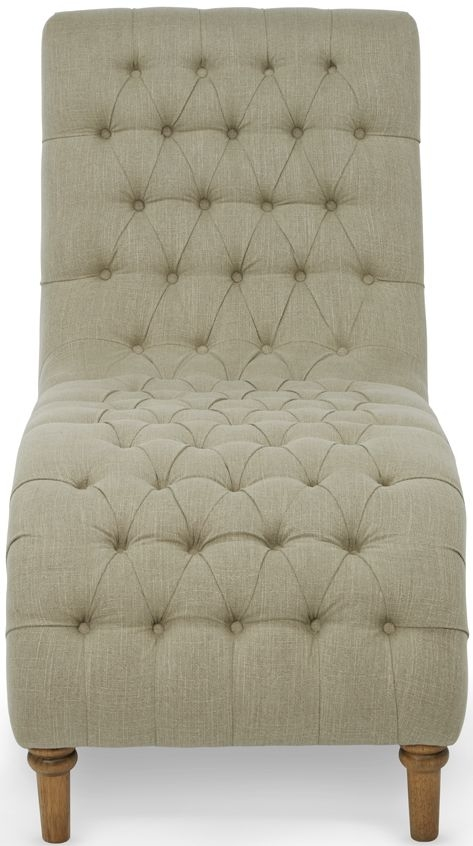 Serene Inverness Mink Fabric Chair