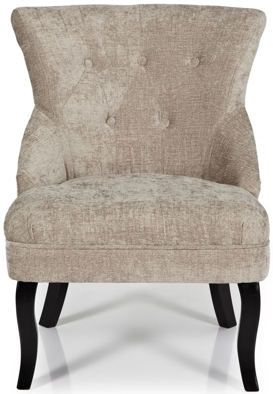 Serene Melrose Mink Fabric Chair
