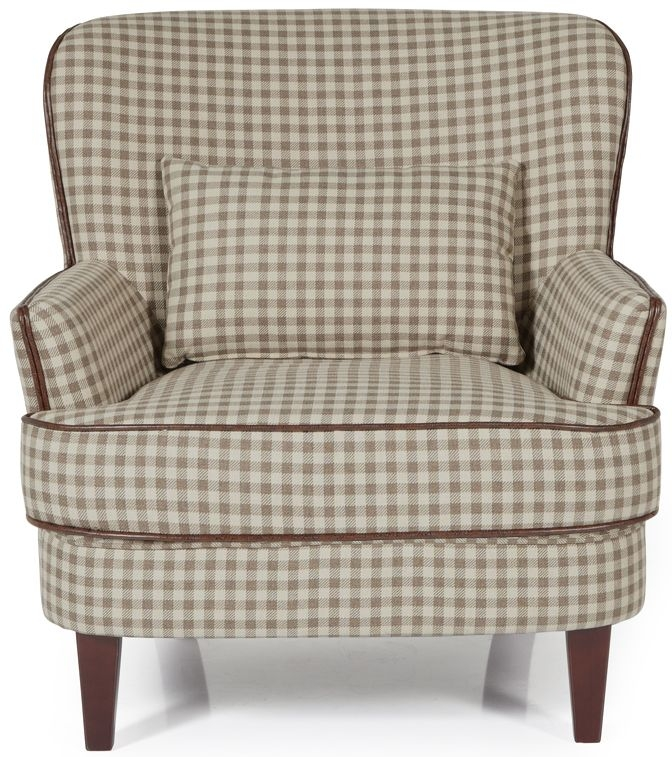 Serene Moffat Cream Fabric Chair