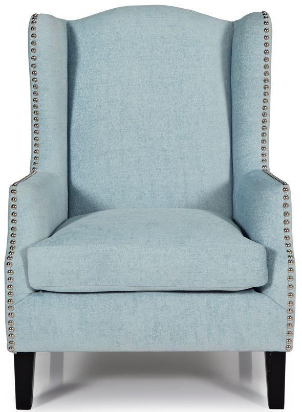 Serene Stirling Duckegg Fabric Armchair