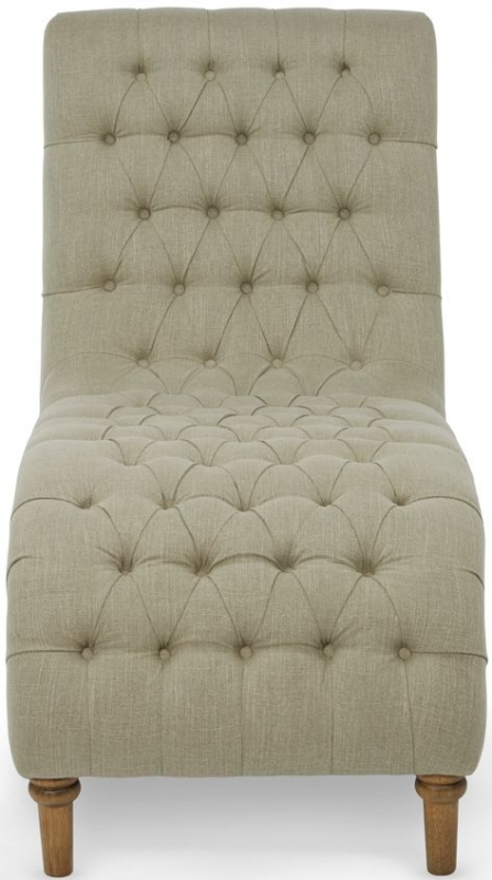 Serene Inverness Mink Fabric Lounge Chaise