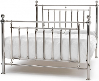 Serene Precious Solomon Nickel Metal Bed