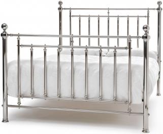 Serene Precious Solomon Nickel Metal Bed
