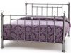 Serene Clara Black Nickel Metal Bed