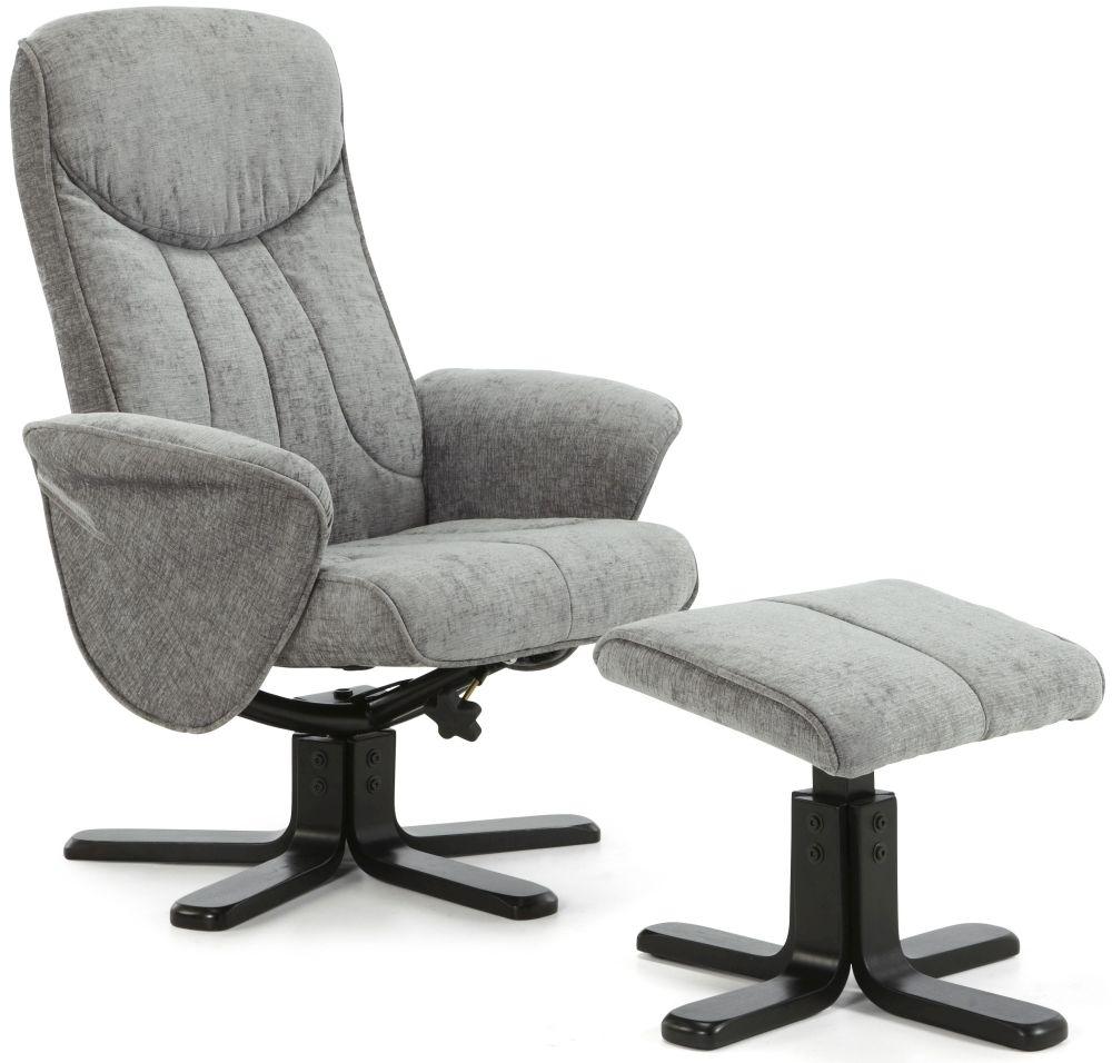 Serene Stavern Steel Fabric Recliner Chair  sc 1 st  Choice Furniture Superstore & Buy Serene Stavern Steel Fabric Recliner Chair Online - CFS UK islam-shia.org