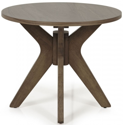 Serene Waltham Walnut Lamp Table