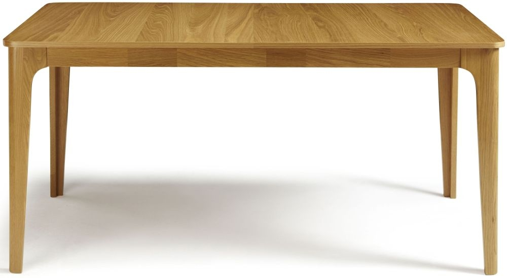 Serene Wandsworth Oak Dining Table - Extending