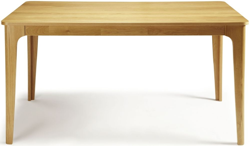 Serene Wandsworth Oak Dining Table - Fixed Top