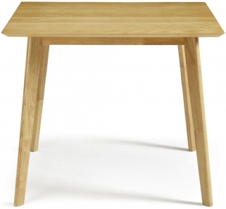 Serene Westminister Oak Dining Table - 90cm Fixed Top