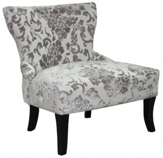Shankar Belgravia Baroque Fabric Chair - Mink