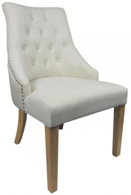 Shankar Camberwell Fabric Chair - Natural