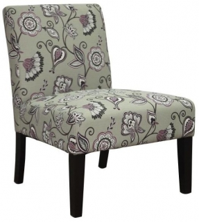Shankar Morris Deco Fabric Chair - Amethyst