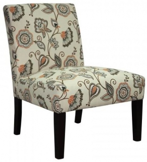 Shankar Morris Deco Fabric Chair - Spice
