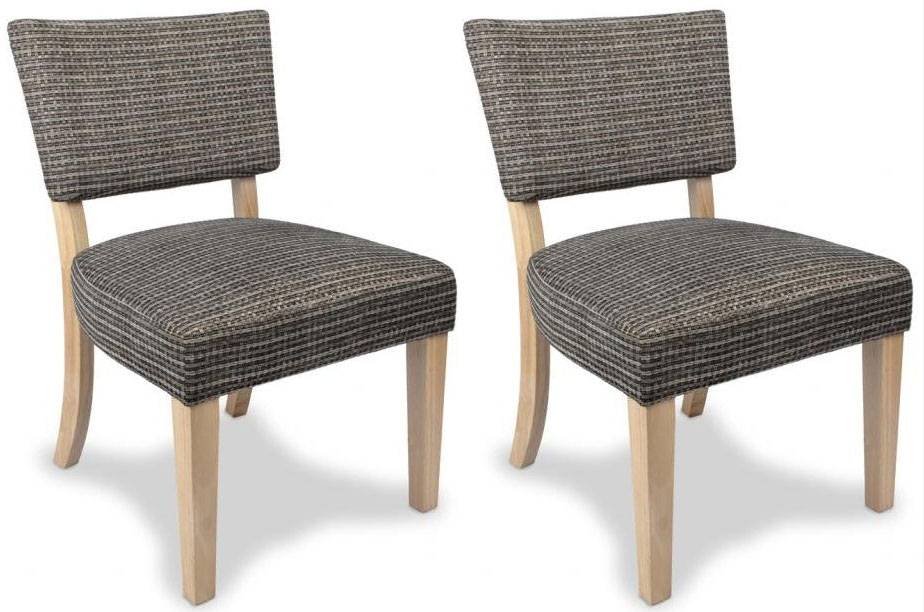 Shankar Dudley Sandbach Chair -Grey (Pair)