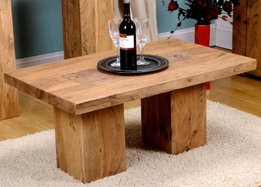 Shankar Alwar Acacia Rectangular Coffee Table