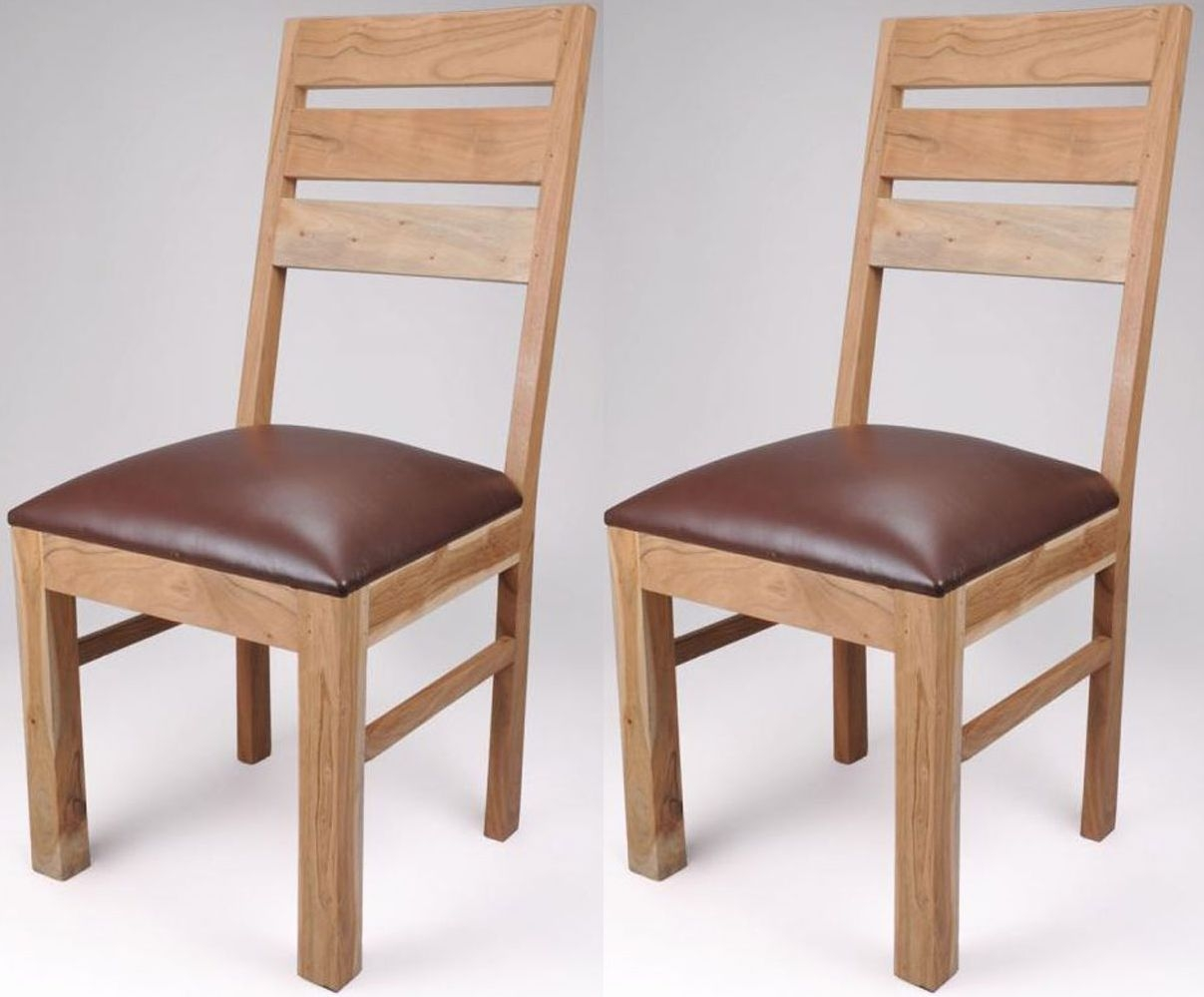 Shankar Alwar Acacia Dining Chair (Pair)