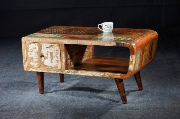 Shankar Babylon Reclaimed 1 Drawer Storage Coffee Table