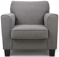 Shankar Grey Stonewash Club Armchairs