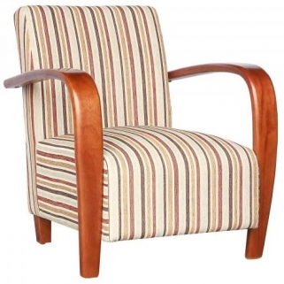 Shankar Restmore Stripe Chair - Antique Gold