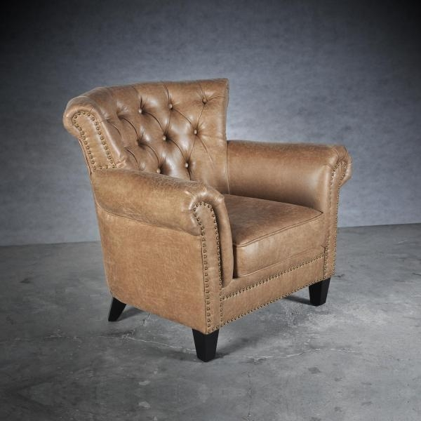 Shankar Hugo Fabric Armchair - Sand
