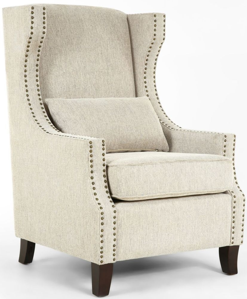 Shankar Sunbrella High Grade Tweed upholstered Armchair